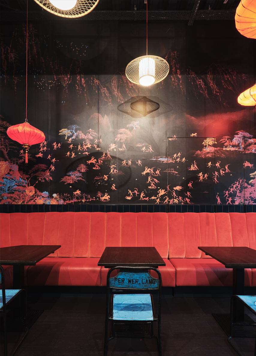 13 HUCKSTER kaiinteriors.com restaurant interiors design london