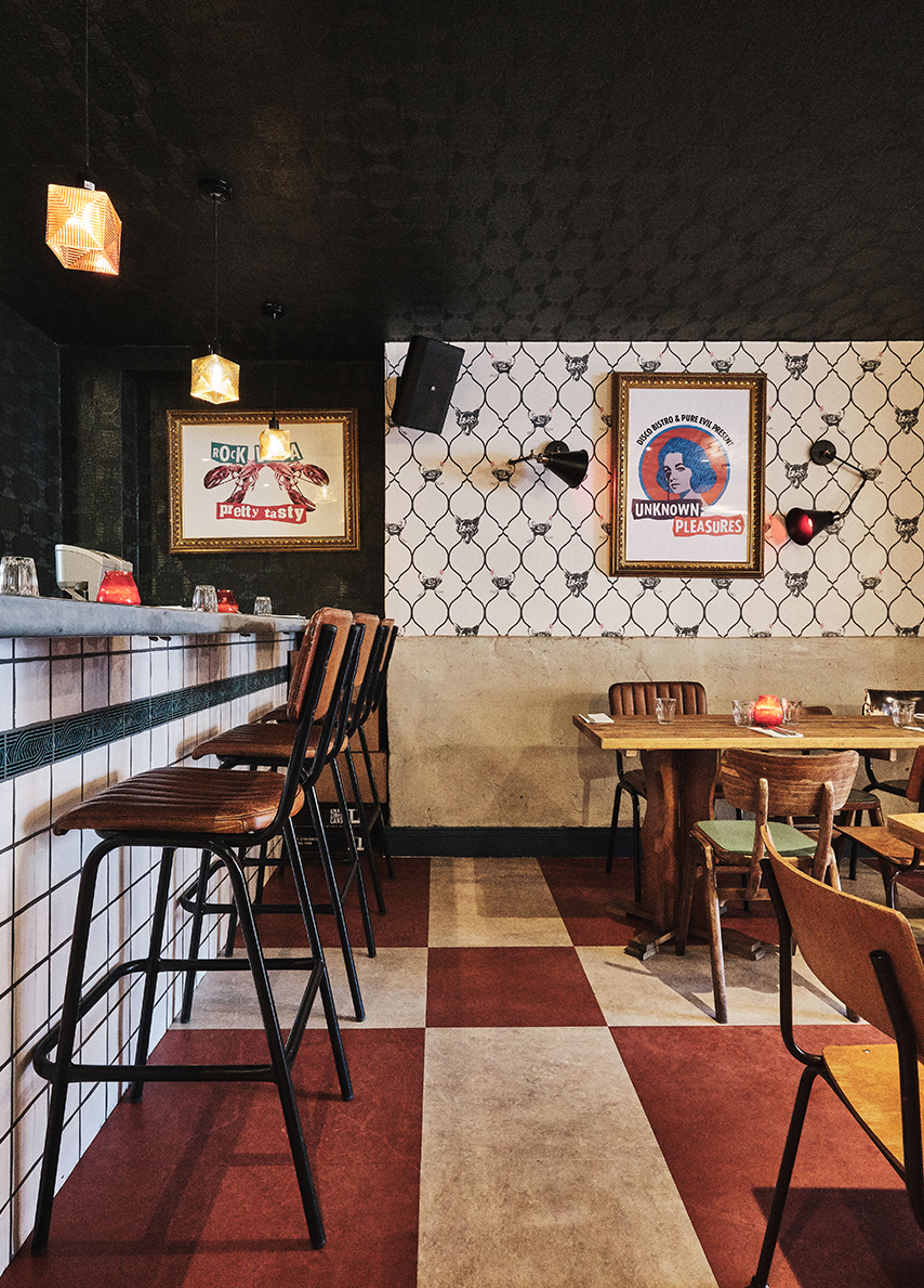 Chick N Sours, Fried Chicken Restaurant Haggerston London by KAI Interiors 2
