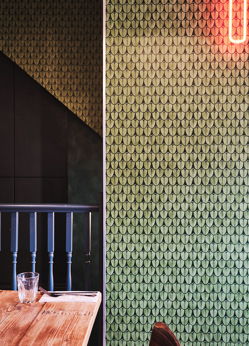 Chick N Sours, Fried Chicken Restaurant Haggerston London by KAI Interiors 3