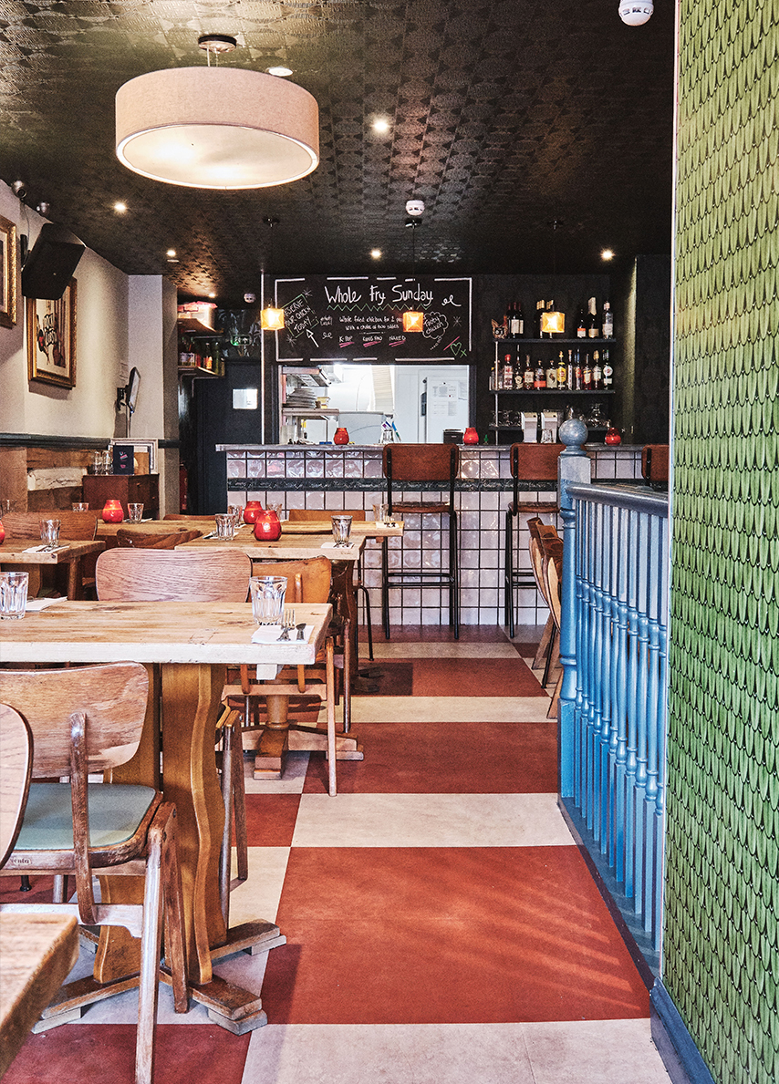 Chick N Sours, Fried Chicken Restaurant Haggerston London by KAI Interiors 7
