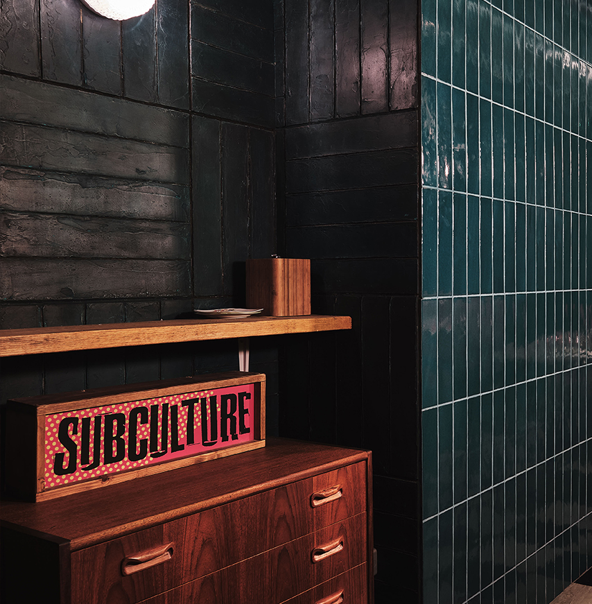 Sub Culture, Chick N Sours Haggerston by KAI Interiors London, Restaurant and Bar Interior design 8