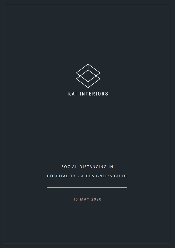 SOCIAL DISTANCING IN HOSPITALITY - A DESIGNER'S GUIDE